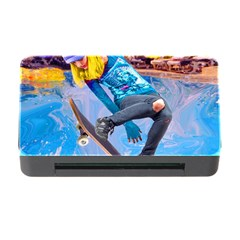 Skateboarding On Water Memory Card Reader With Cf by icarusismartdesigns