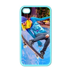 Skateboarding On Water Apple Iphone 4 Case (color) by icarusismartdesigns