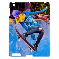 Skateboarding On Water Apple Ipad 3/4 Hardshell Case by icarusismartdesigns