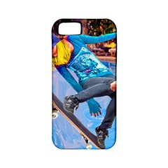 Skateboarding On Water Apple Iphone 5 Classic Hardshell Case (pc+silicone) by icarusismartdesigns