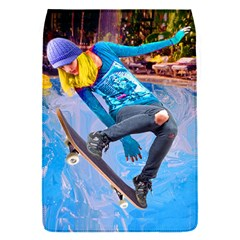 Skateboarding On Water Flap Covers (s)  by icarusismartdesigns