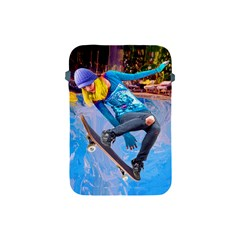 Skateboarding On Water Apple Ipad Mini Protective Soft Cases by icarusismartdesigns