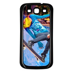 Skateboarding On Water Samsung Galaxy S3 Back Case (black) by icarusismartdesigns