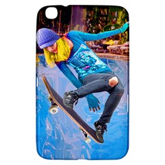 Skateboarding On Water Samsung Galaxy Tab 3 (8 ) T3100 Hardshell Case  by icarusismartdesigns