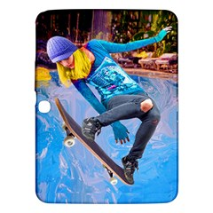 Skateboarding On Water Samsung Galaxy Tab 3 (10 1 ) P5200 Hardshell Case  by icarusismartdesigns