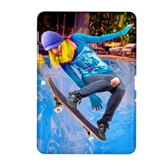 Skateboarding On Water Samsung Galaxy Tab 2 (10 1 ) P5100 Hardshell Case  by icarusismartdesigns