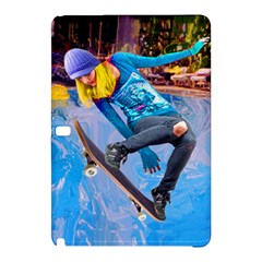 Skateboarding On Water Samsung Galaxy Tab Pro 12 2 Hardshell Case by icarusismartdesigns