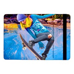 Skateboarding On Water Samsung Galaxy Tab Pro 10 1  Flip Case by icarusismartdesigns
