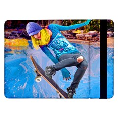 Skateboarding On Water Samsung Galaxy Tab Pro 12 2  Flip Case