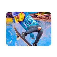 Skateboarding On Water Double Sided Flano Blanket (mini)  by icarusismartdesigns
