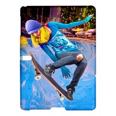 Skateboarding On Water Samsung Galaxy Tab S (10 5 ) Hardshell Case  by icarusismartdesigns