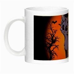 Seruki Vampire Kitty Cat Night Luminous Mugs by Seruki