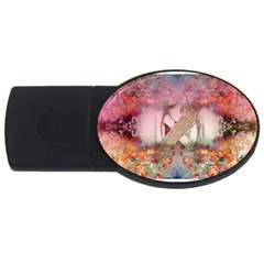 Cell Phone   Nature Forces Usb Flash Drive Oval (4 Gb)  by infloence