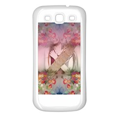 Cell Phone   Nature Forces Samsung Galaxy S3 Back Case (white) by infloence