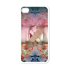 Nature And Human Forces Cowcow Apple Iphone 4 Case (white)