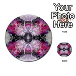 Natureforces Abstract Multi-purpose Cards (Round)  Back 1