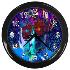 Voyage Of Discovery Wall Clocks (black) by icarusismartdesigns