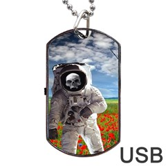 Exodus Dog Tag Usb Flash (two Sides)  by icarusismartdesigns