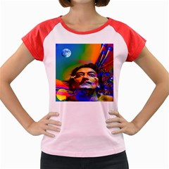 Dream Of Salvador Dali Women s Cap Sleeve T-shirt by icarusismartdesigns