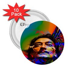 Dream Of Salvador Dali 2 25  Buttons (10 Pack)  by icarusismartdesigns