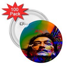 Dream Of Salvador Dali 2 25  Buttons (100 Pack)  by icarusismartdesigns