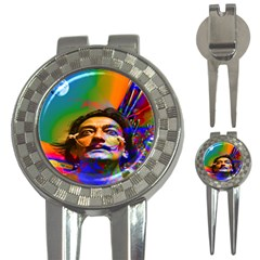 Dream Of Salvador Dali 3 In 1 Golf Divots by icarusismartdesigns