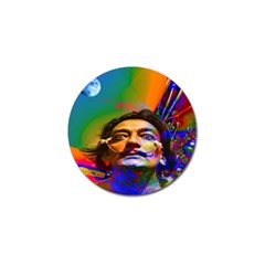Dream Of Salvador Dali Golf Ball Marker by icarusismartdesigns