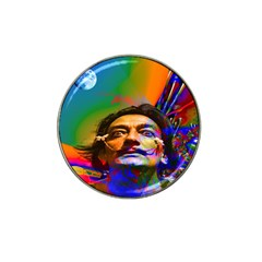 Dream Of Salvador Dali Hat Clip Ball Marker (4 Pack) by icarusismartdesigns