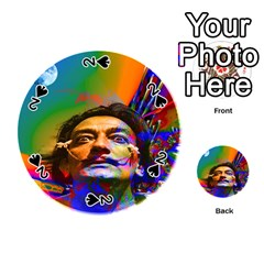 Dream Of Salvador Dali Playing Cards 54 (round)  by icarusismartdesigns