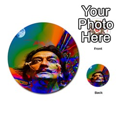 Dream Of Salvador Dali Multi Purpose Cards (round)  by icarusismartdesigns