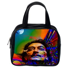 Dream Of Salvador Dali Classic Handbags (one Side) by icarusismartdesigns