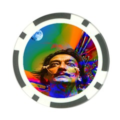 Dream Of Salvador Dali Poker Chip Card Guards (10 Pack)  by icarusismartdesigns