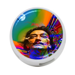 Dream Of Salvador Dali 4 Port Usb Hub (one Side) by icarusismartdesigns