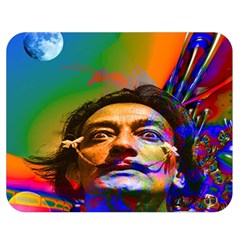 Dream Of Salvador Dali Double Sided Flano Blanket (medium)  by icarusismartdesigns