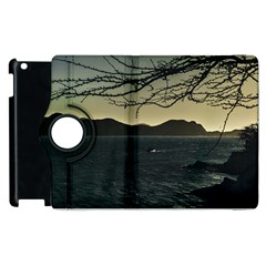 Landscape Aerial View Of Taganga In Colombia Apple Ipad 2 Flip 360 Case by dflcprints