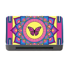Butterfly Mandala Memory Card Reader With Cf by GalacticMantra