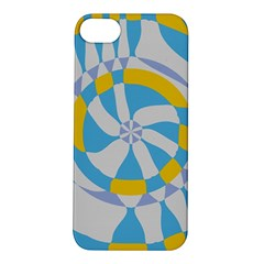 Abstract Flower In Concentric Circles Apple Iphone 5s Hardshell Case by LalyLauraFLM