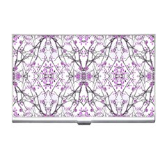 Geometric Pattern Nature Print  Business Card Holders by dflcprints