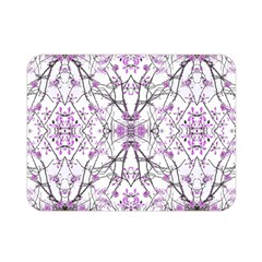 Geometric Pattern Nature Print  Double Sided Flano Blanket (mini)  by dflcprints