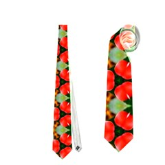 Lovely Trendy Pattern Background Pattern Neckties (one Side)  by creativemom