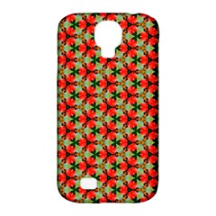 Lovely Trendy Pattern Background Pattern Samsung Galaxy S4 Classic Hardshell Case (pc+silicone) by creativemom