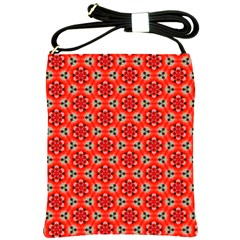 Lovely Orange Trendy Pattern  Shoulder Sling Bags by creativemom