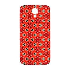 Lovely Orange Trendy Pattern  Samsung Galaxy S4 I9500/i9505  Hardshell Back Case by creativemom