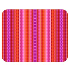 Orange Tribal Aztec Pattern Double Sided Flano Blanket (medium)  by creativemom