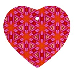 Cute Pretty Elegant Pattern Ornament (heart)  by creativemom