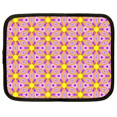 Cute Pretty Elegant Pattern Netbook Case (xl)  by creativemom