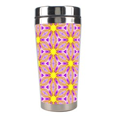 Cute Pretty Elegant Pattern Stainless Steel Travel Tumblers by creativemom
