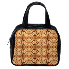 Faux Animal Print Pattern Classic Handbags (one Side) by creativemom