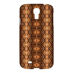 Faux Animal Print Pattern Samsung Galaxy S4 I9500/i9505 Hardshell Case by creativemom