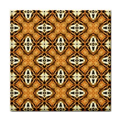 Faux Animal Print Pattern Tile Coasters